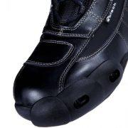 Black-FC-Tech-Motorrad-Stiefel-kurz-Schuhe-knchelhoch-0-15