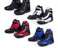 Black FC-Tech – Motorrad-Stiefel kurz – Schuhe – knöchelhoch