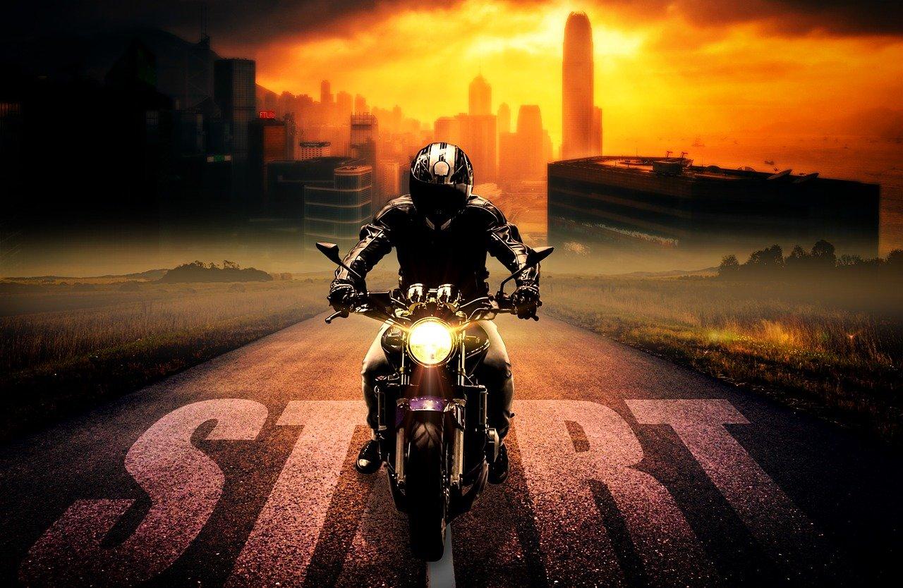 Motorradjacke