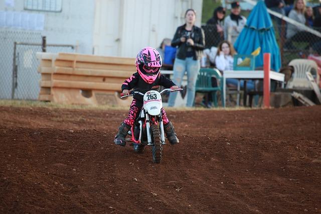 Kinder Motorradhelm