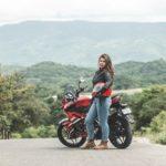 Motorradjacke Damen